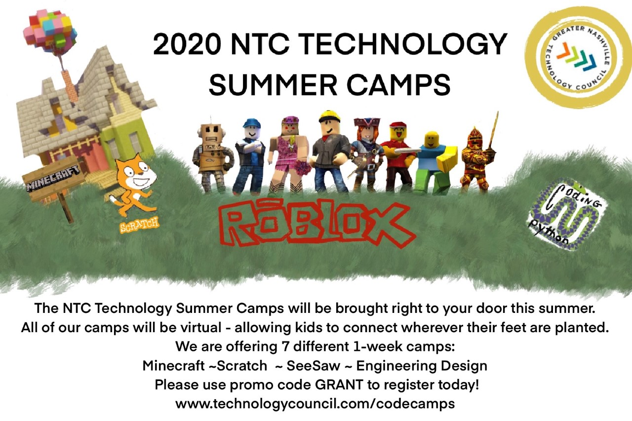 NTC Technology Summer Camps Flyer