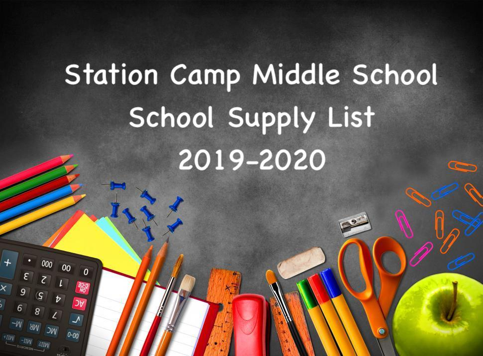 Click Here for the 2019-2020 Supply List