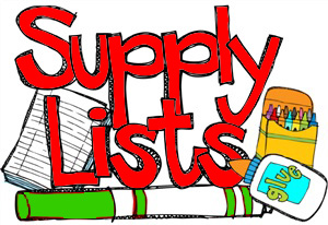 Supply Supply List
