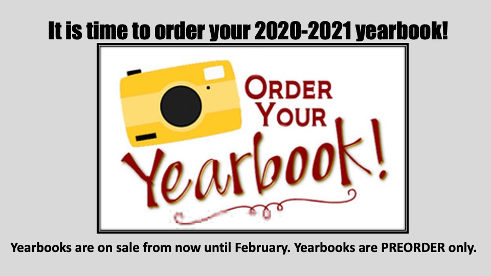 Have you bought your yearbook?