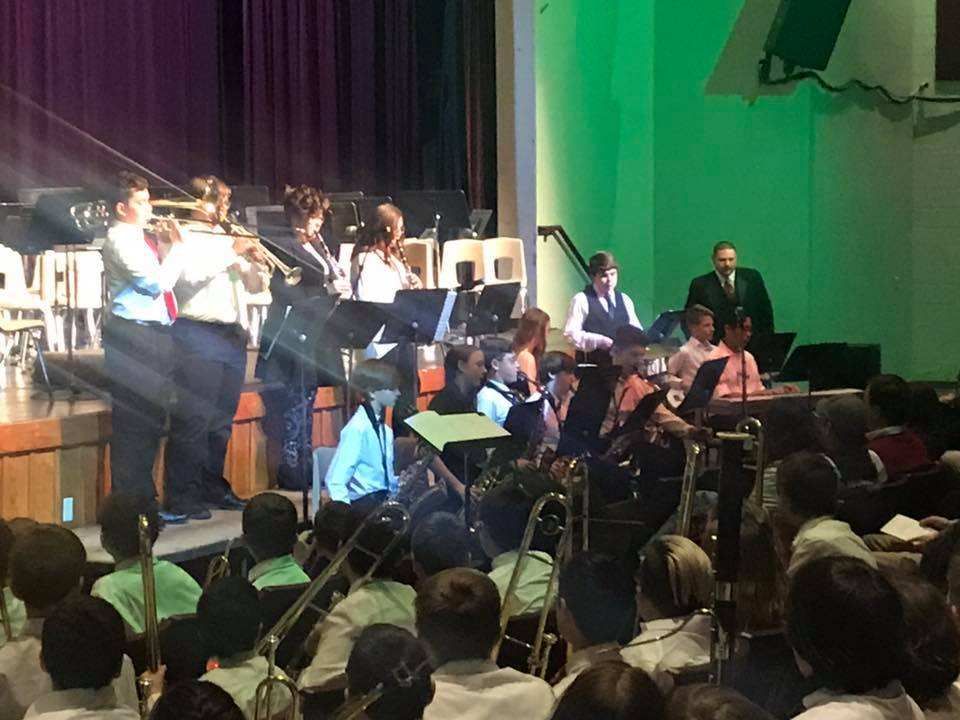 SCMS Band rocks the holiday concert!